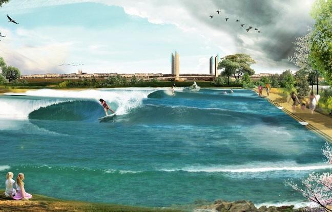 озеро для серфинга