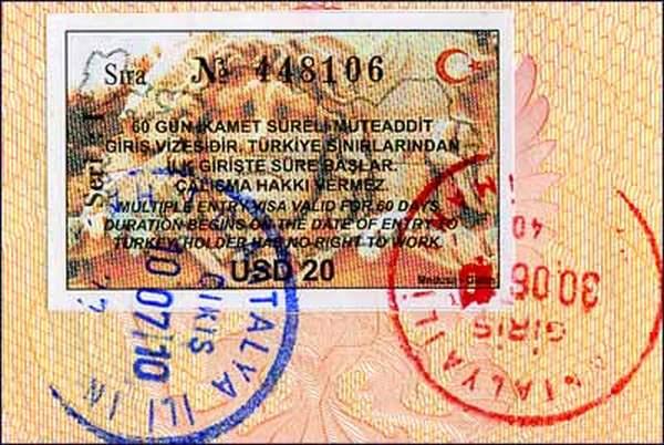 Правила въезда в Турцию