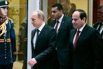 Владимир Путин отправляется с визитом в Египет