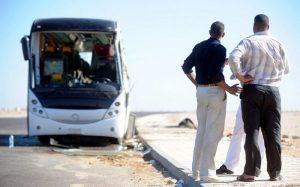 российскими туристами в Египте