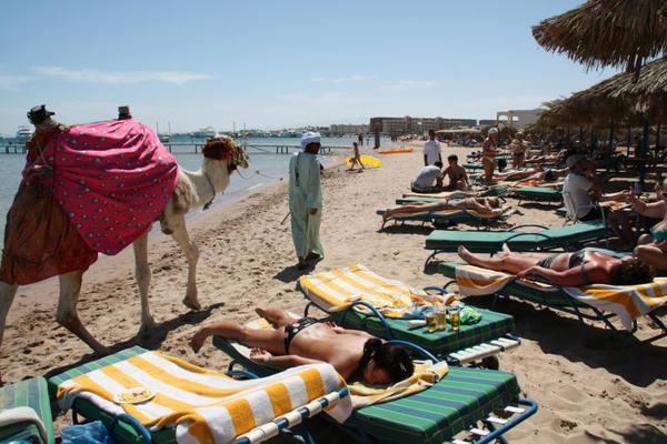туристов в Египте