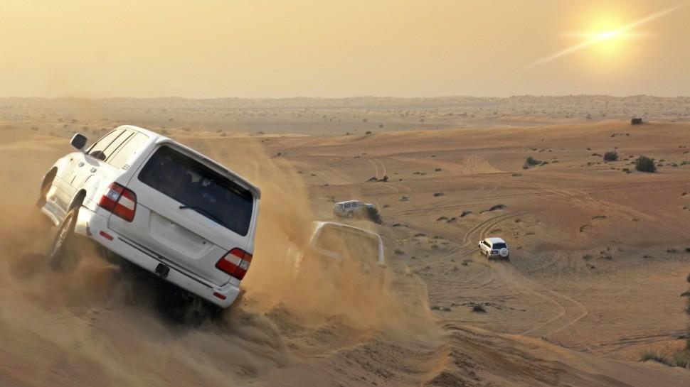 Сафари на весь день по пустыне