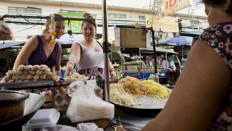 уличная еда в Банкгоке