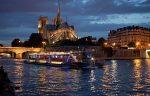 Экскурсии во Франции – вечерний Париж и прогулка на кораблике по Сене