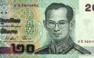 таиландская валюта
