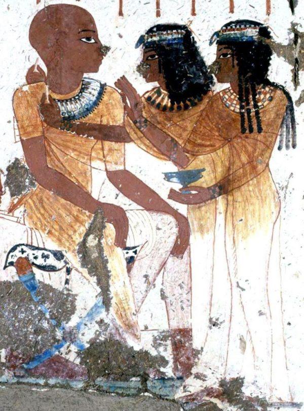 живопись в древнем египте